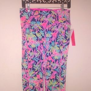 Lilly Pulitzer Cropped Leggings NWT